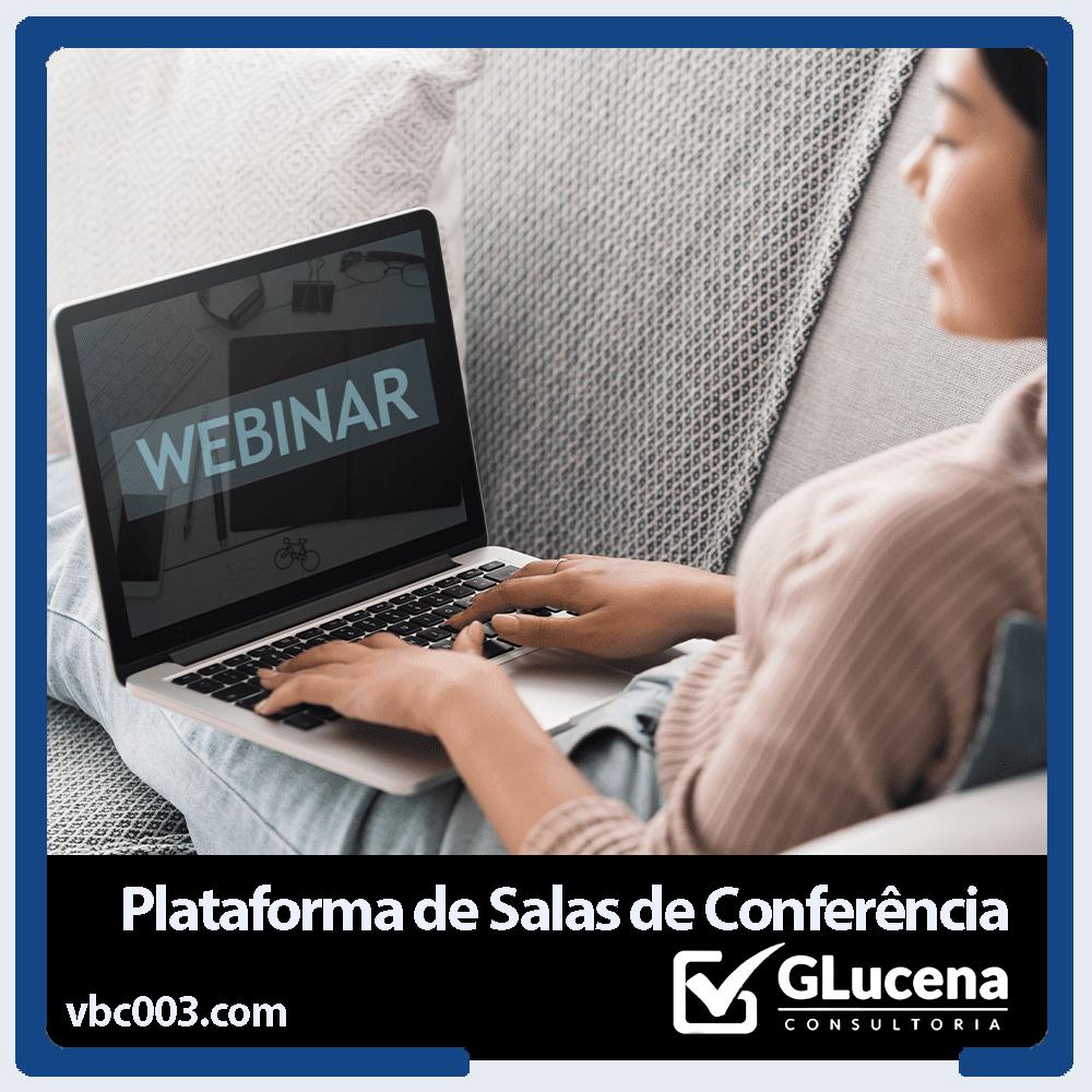 PLATAFORMA DE SALAS DE CONFERÊNCIA E WEBINÁRIOS